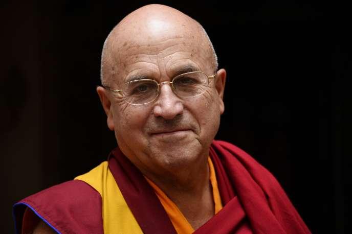 Le moine bouddhiste français Matthieu Ricard (octobre 2014).