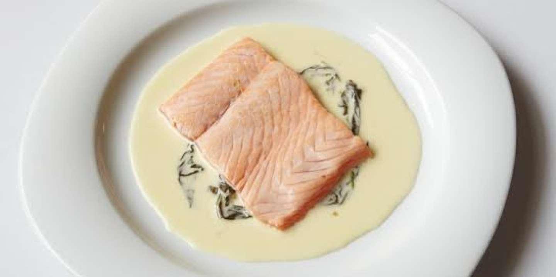 L'escalope de saumon à l'oseille de la maison Troisgros
