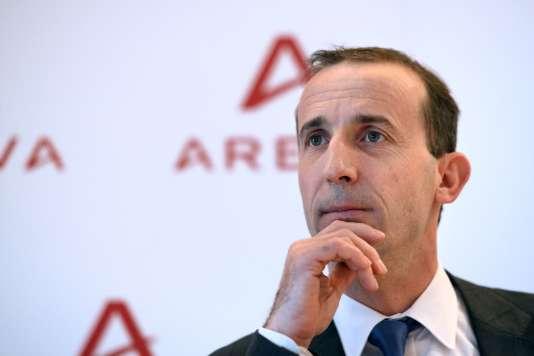 Philippe Knoche, directeur général d'Areva, le 13 décembre.