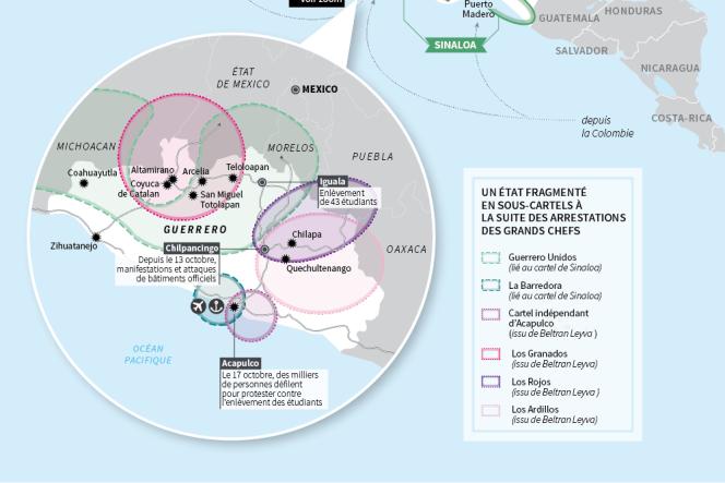 Mexique : le nouveau visage de la guerre des cartels.