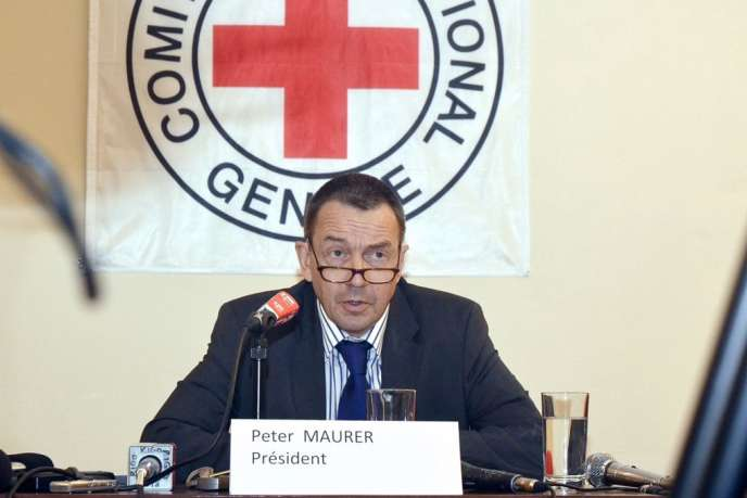 Peter Maurer, le président du Comité international de la Croix-Rouge.