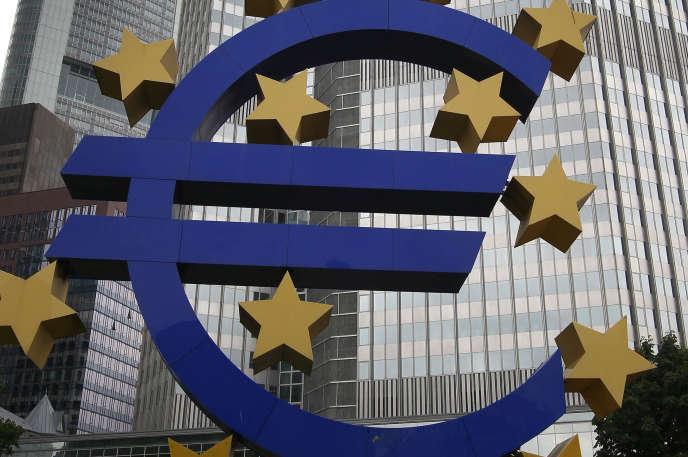 Siège de la BCE, à Francfort (Allemagne).