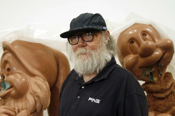 Paul McCarthy, dans son atelier de Los Angeles, en 2010.