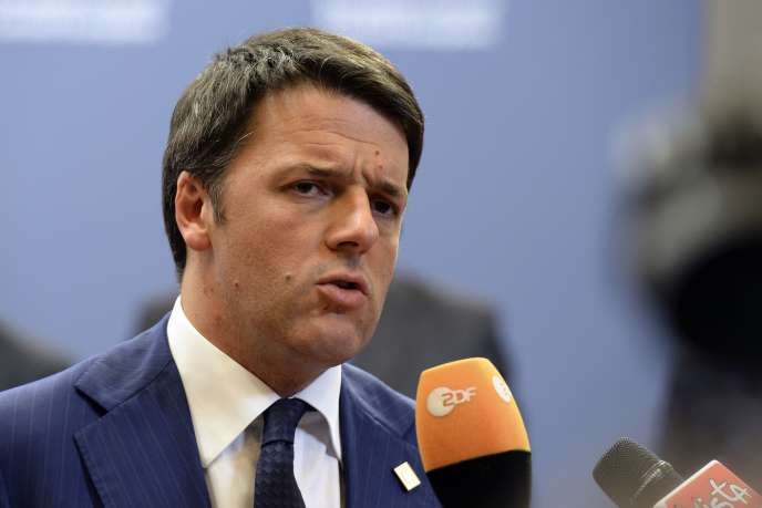 Matteo Renzi, le 24 octobre à Bruxelles.