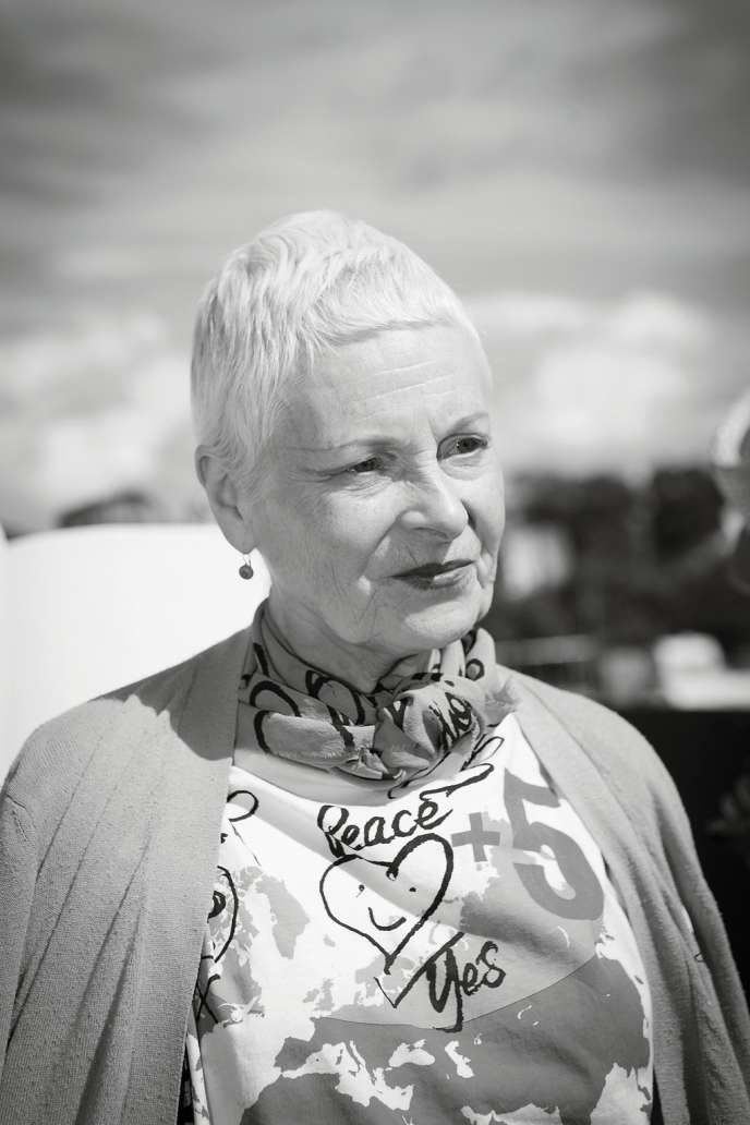 A 73 ans, Vivienne Westwood  reste une révoltée.