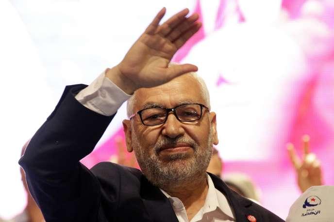 Rached Ghannouchi, le chef du parti Ennahda, le 24 octobre 2014.