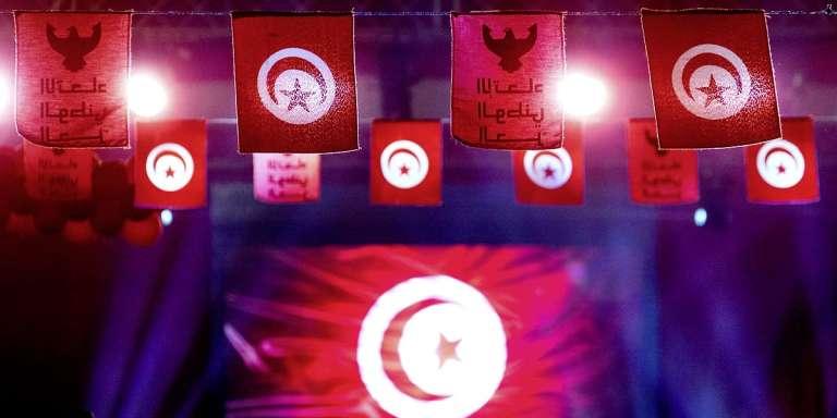 Pendant les législatives de 2014, à Tunis.