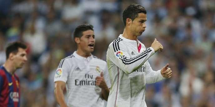 Cristiano Ronaldo a été le grand artisan de la victoire contre le Barça.