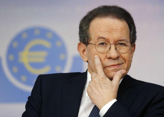 Le vice-président de la BCE, Vitor Constancio, le 26 octobre.