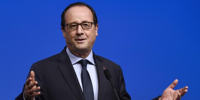 François Hollande à Dijon, le 26 octobre.