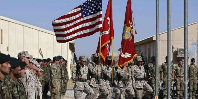 Fin des opérations en Afghanistan pour les marines américains et les soldats britanniques.