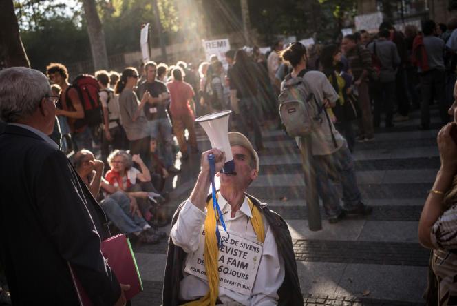 Manifestation à la mémoire de Rémi Fraisse, à Albi, le 27 octobre.