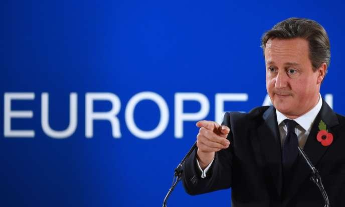 Le premier ministre britannique, David Cameron, a annoncé, vendredi24octobre, son intention de ne pas régler la contribution du Royaume-Uni au budget européen.
