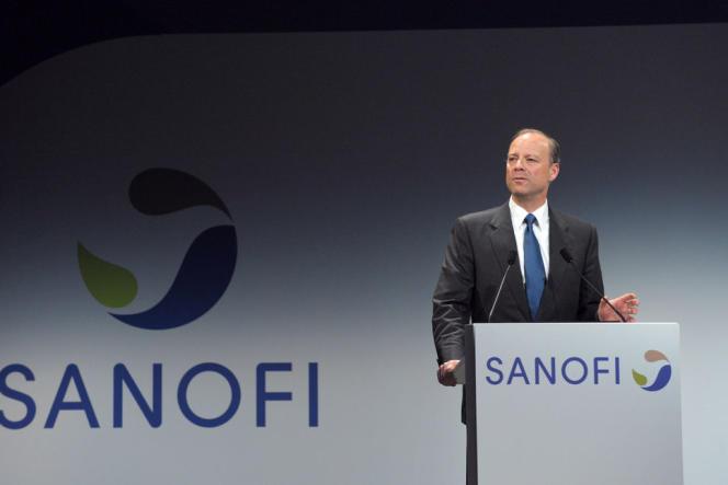 Chris Viehbacher, directeur général de Sanofi, a été écarté de la tête du groupe pharmaceutique le 29 octobre 2014.