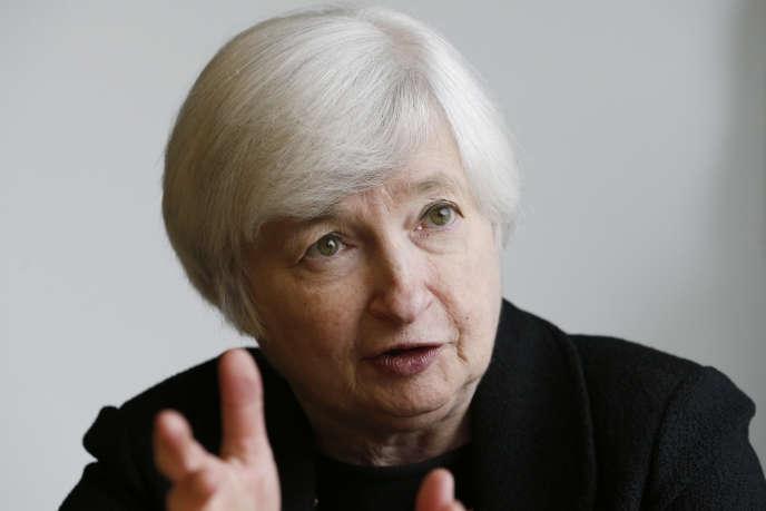 Janet Yellen, la présidente de la Réserve fédérale américaine (Fed), devrait valider mercredi29octobre la fin des programmes de rachats d'actifs de la banque centrale.