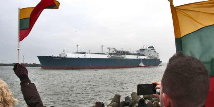 Le méthanier permettra à la Lituanie de ne plus dépendre uniquement du gaz russe.