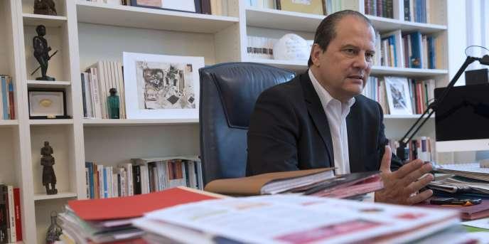 Le premier secrétaire du Parti socialiste, Jean-Christophe Cambadélis, le 24 octobre 2014.