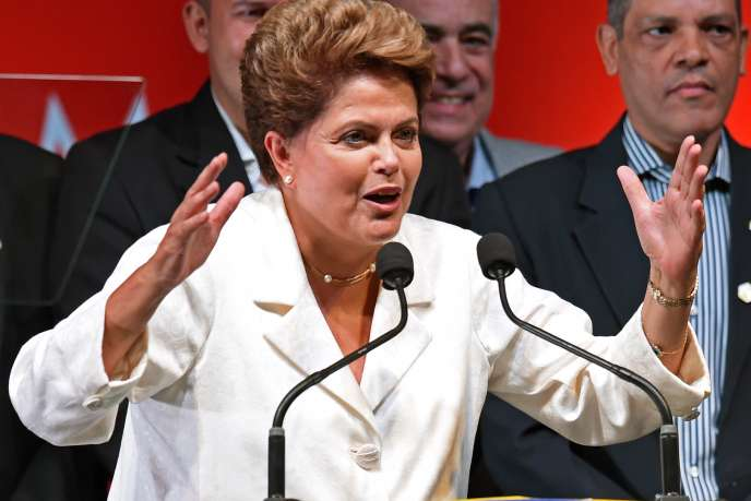 Dilma Rousseff, le 26 octobre