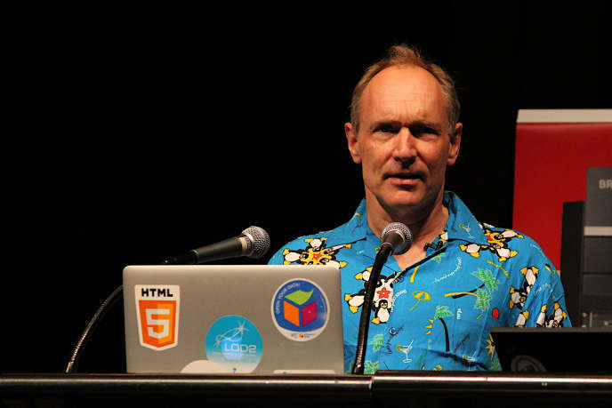 Tim Berners-Lee en 2013.