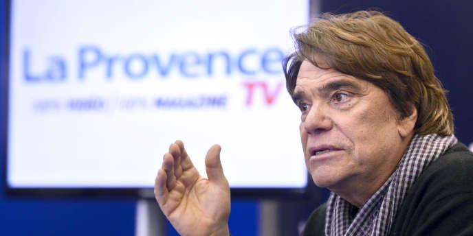 Bernard Tapie a notamment assuré que « 80 % de la rédaction de La Provence étaient à gauche ».