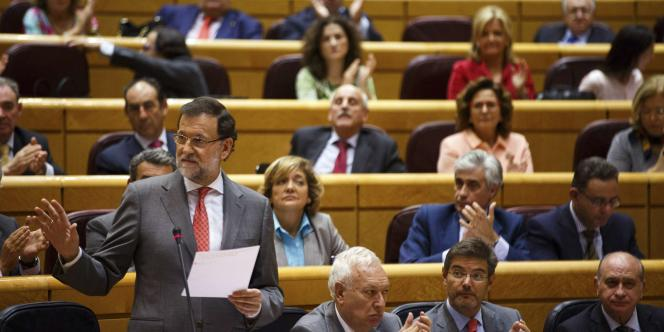 Le chef du gouvernement a pris volontairement la parole sur le sujet devant les sénateurs, au lendemain d'une grande opération anticorruption.