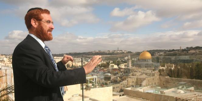 Yehuda Glick est un militant connu de l'extrême droite israélienne, né aux Etats-Unis.