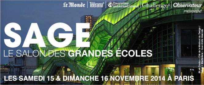 Salon des grandes écoles du « Monde », les 15 et 16 novembre 2014 à Paris