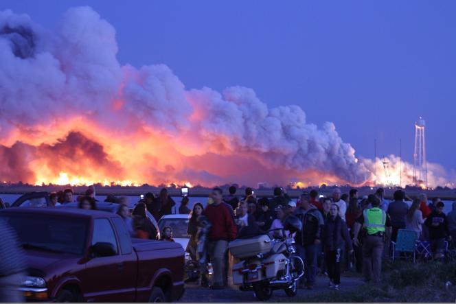 Il s'agit du premier accident depuis que la NASA a confié à des opérateurs privés les missions de ravitaillement à destination de la station.