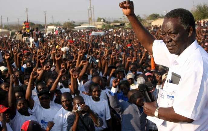 Michael Sata, en 2006.