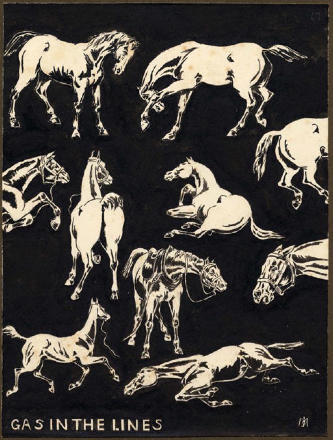 «JM's WWI Sketchbooks, 1917-1918».