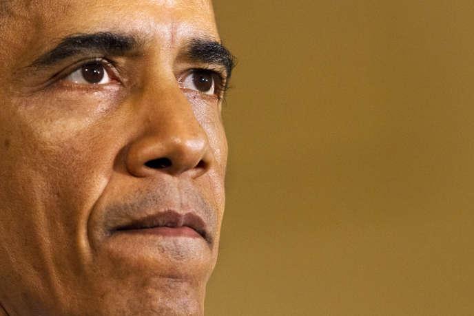 Barack Obama, le29octobre à la Maison Blanche