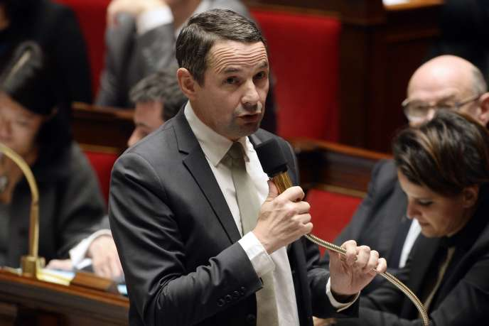 Thierry Mandon, lors d'une session à l'Assemblée en 2014.