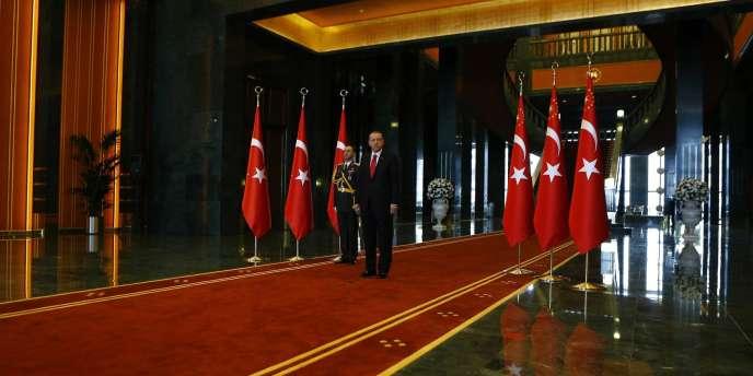 Recep Tayyip Erdogan, à Ankara le 29 octobre.
