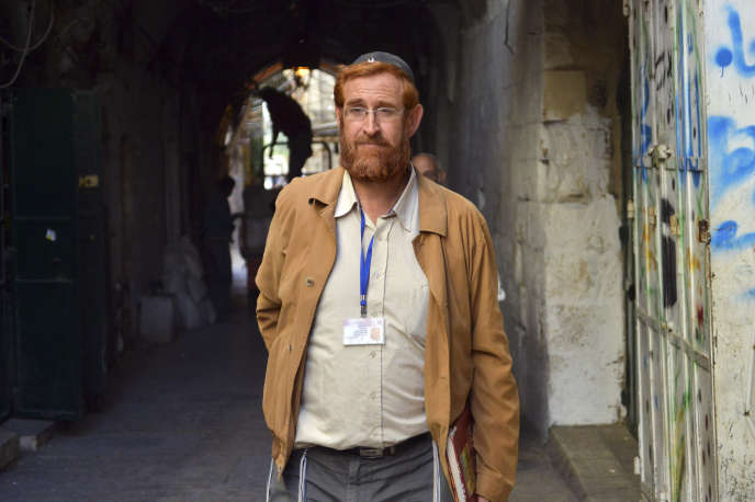 Yehuda Glick, en 2013 à Jérusalem.