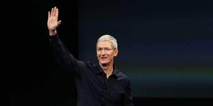 Tim Cook, le patron d'Apple, le 16 octobre.