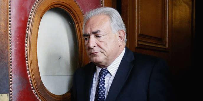 L'ancien directeur du FMI, Dominique Strauss-Kahn, à Paris, en février 2013.