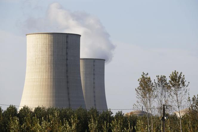 La centrale nucléaire de Golfech (Tarn-et-Garonne), le 28 octobre.