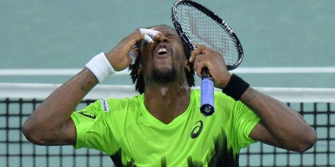 Dernier Français encore en lice à Paris-Bercy, Gaël Monfils, a été éliminé en huitièmes de finale, jeudi, par Novak Djokovic.