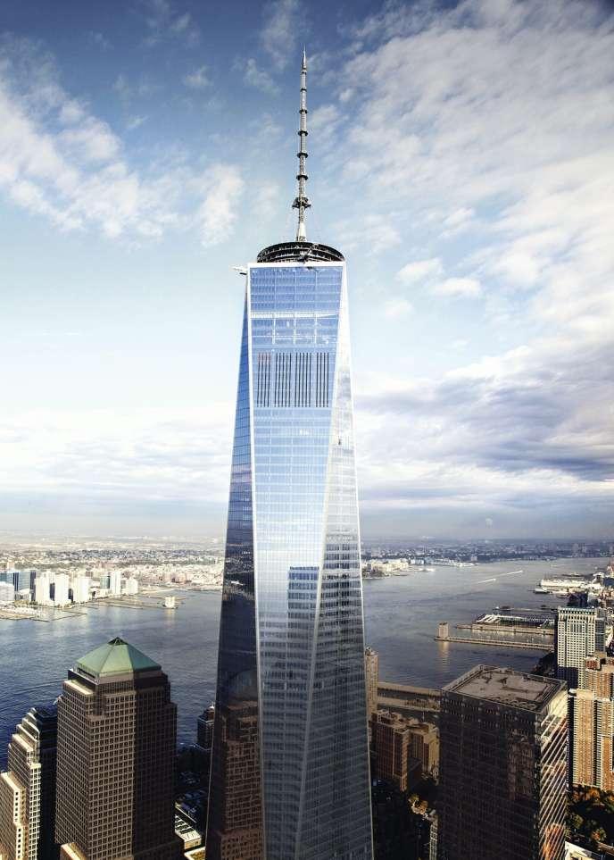 La Tour One du nouveau World Trade Center.