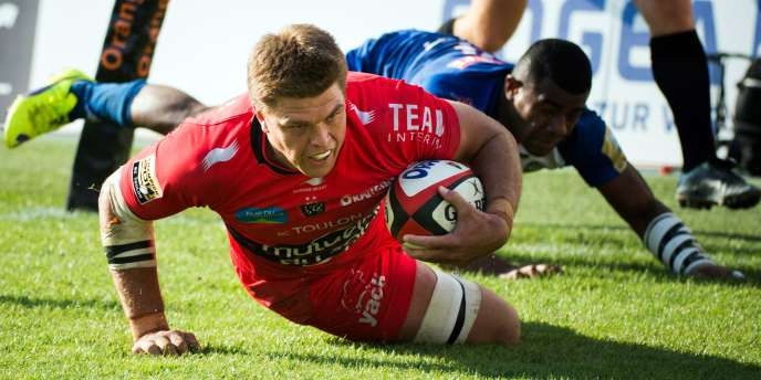 Juan Smith, le 2 novembre à Toulon face à Grenoble.