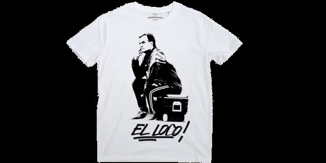 La plate-forme artistique triangle a mis en vente un visuel de Marcelo Bielsa sur sa glacière, déclinable en coque de smartphone mais aussi en T-Shirt.