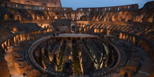 Le Colisée à Rome, le 18 avril 2014.