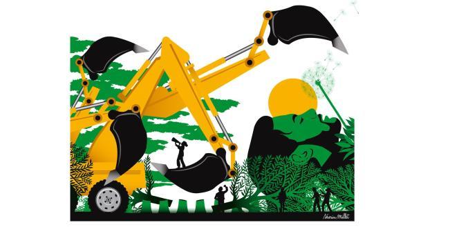 Dessin sur Sivens, nouvelle ère écologique ?