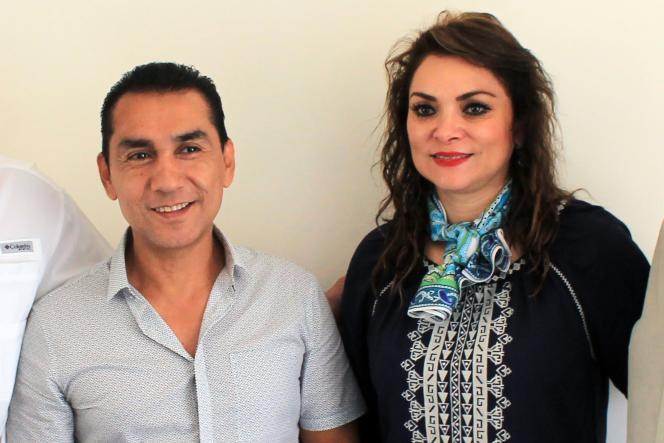Le maire d'Iguala, José Luis Abarca et son épouse, Maria de Los Angeles Pineda, enjuillet2014.
