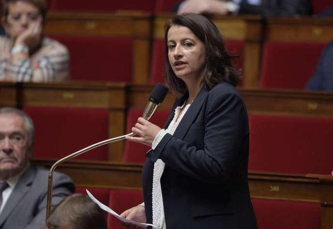 Cécile Duflot, à l'Assemblée nationale, le 4 novembre 2014.