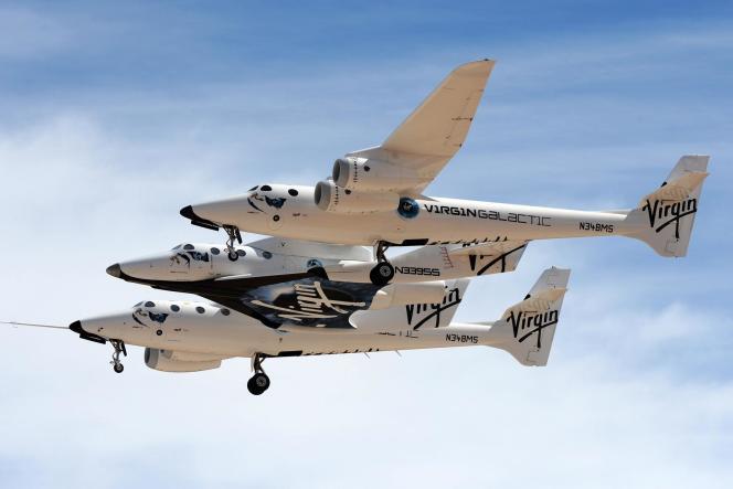 SpaceShipTwo, l'avion fusée de Virgin.