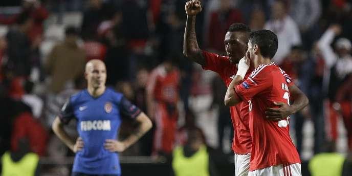 Le Benfica de Lisbonne s'est imposé face à Monaco, le 4 novembre.