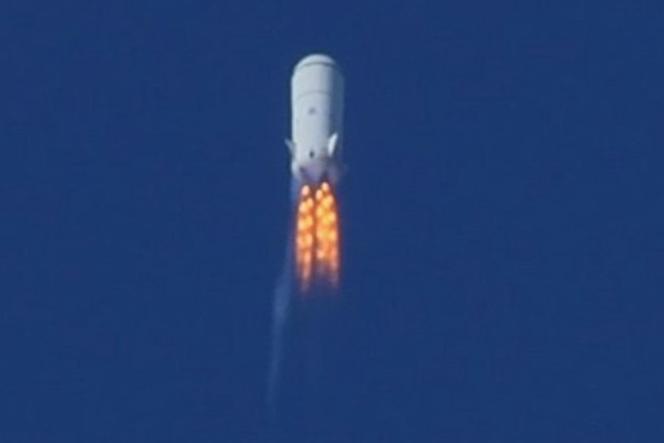 New Shepard, de Blue Origin.