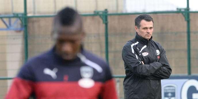 Willy Sagnol à l'entraînement des Girondins, le 4 novembre.