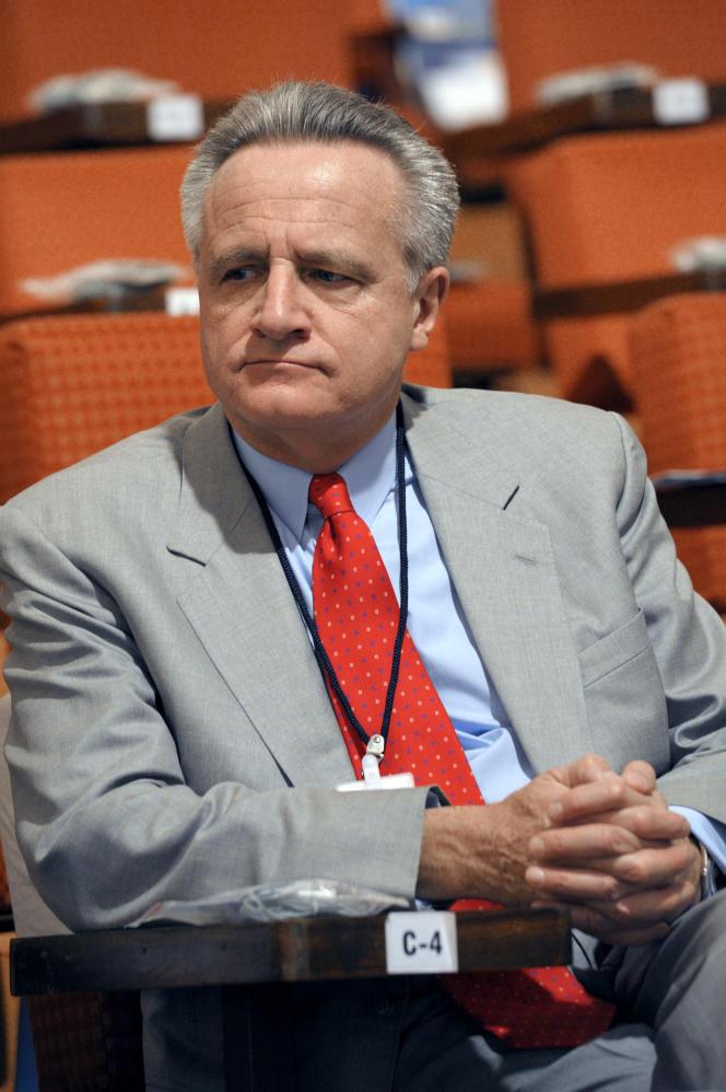 Le banquier d'affaires et hôtelier Philippe Villin en décembre 2010.